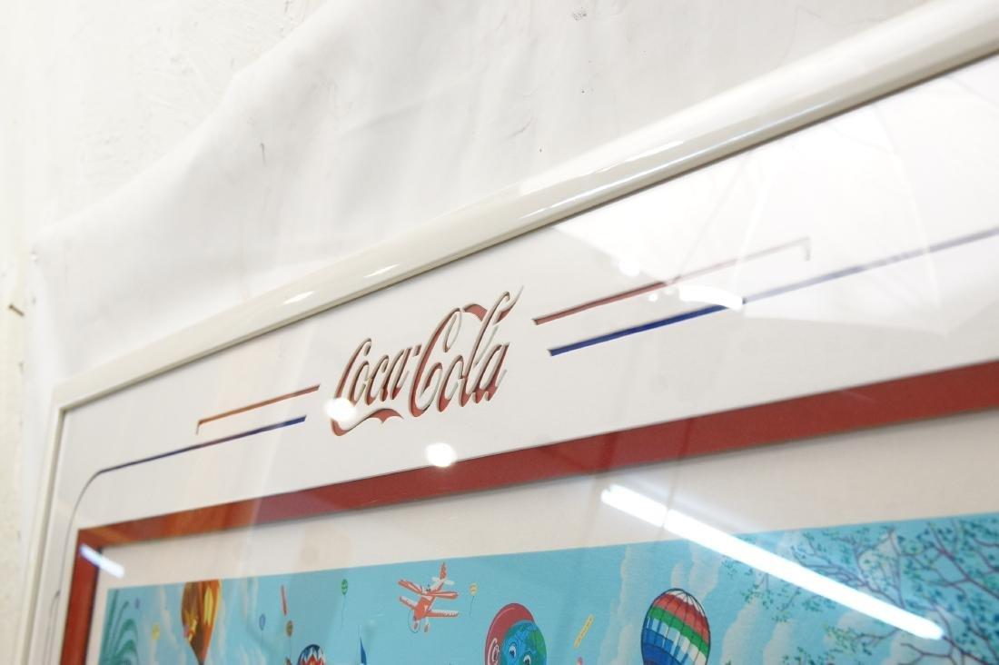 Melanie Taylor Kent Lmtd. Ed. Coca Cola Lithograph - 9