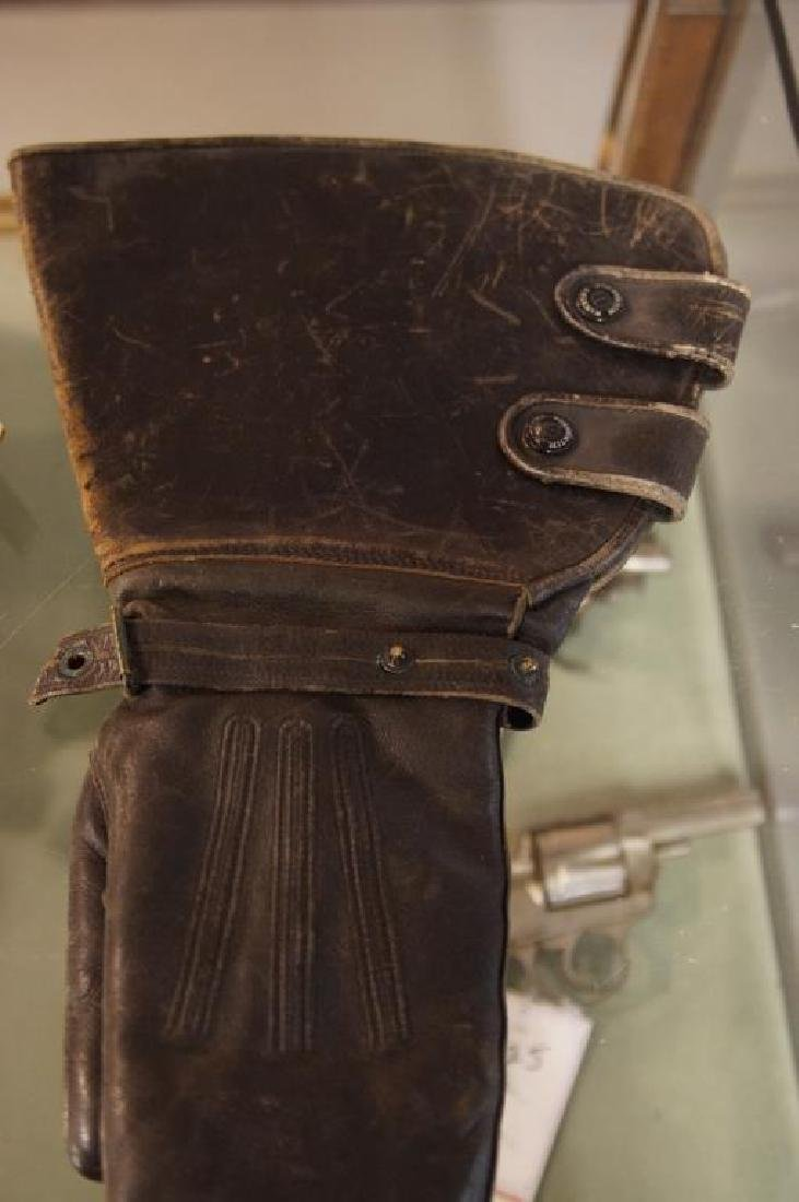 Antique motorcycle gloves - 5
