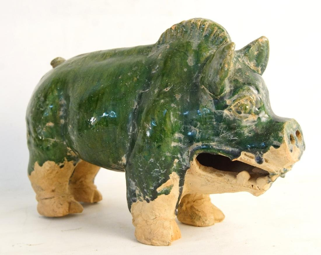 Ching dynasty Ceramic Boar-year of the pig