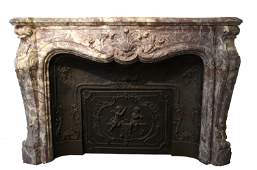 An Outstanding Marble Fireplace surround Mantle