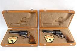 Pair Mint Ruger Mag-na-port Mark V 44Mag Revolvers