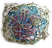 Forrest Warden Myers (1941) Wire Wall Sculpture