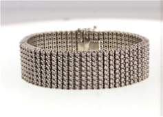 14kt Gold & 32 ctw Diamond Articulating Bracelet