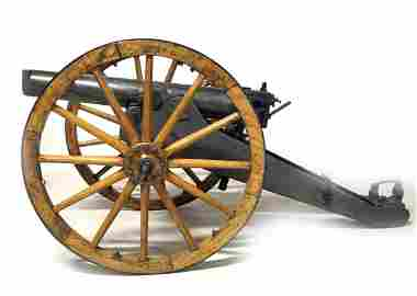 Rare 1875 Krupp Howitzer Mountain Cannon 85mm