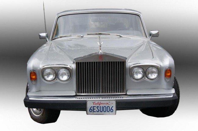 201: 1979 Rolls Royce Silver Shadow II 4dr Sedan 76,373