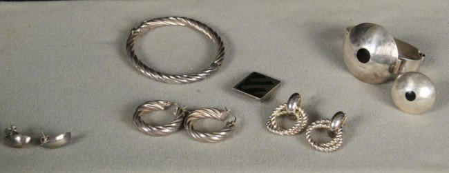 12: Sterling Silver jewelry lot