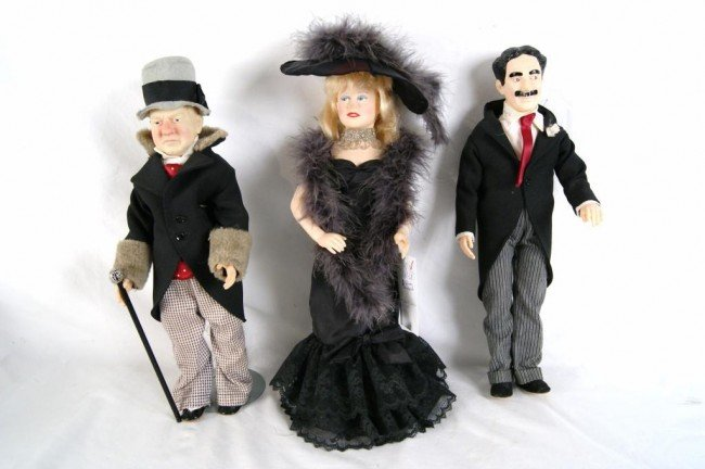 18: Effanbee character dolls - Mae West, W.C. Fields an
