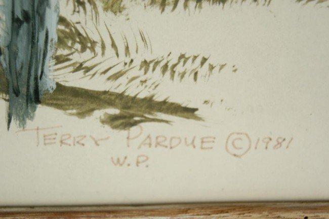 "86: Terry Pardue wagon acrylic 24""x30"" 1981 - 3"