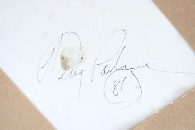 "86: Terry Pardue wagon acrylic 24""x30"" 1981 - 5"
