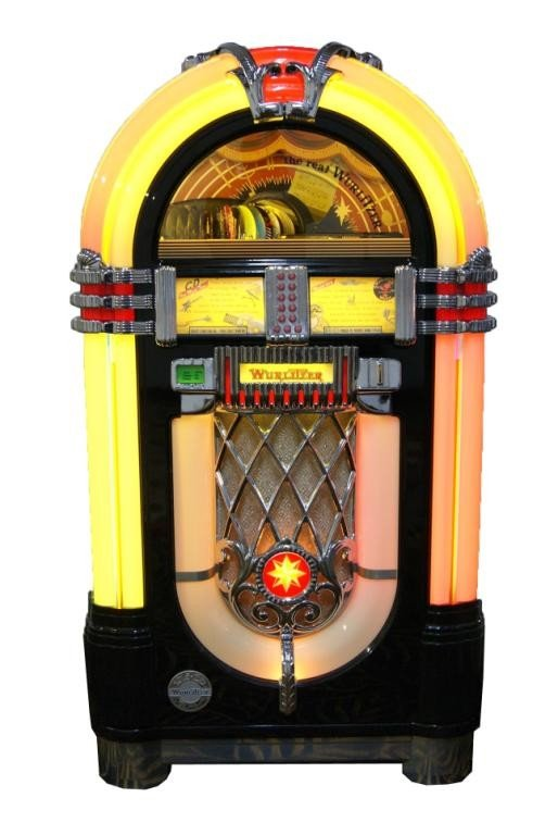 140: Special Edition Wurlitzer juke box - new 1015 with