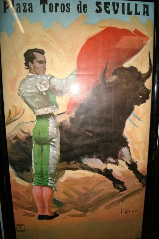 152A: 3 Vintage Spanish Bullfighting Posters - 5