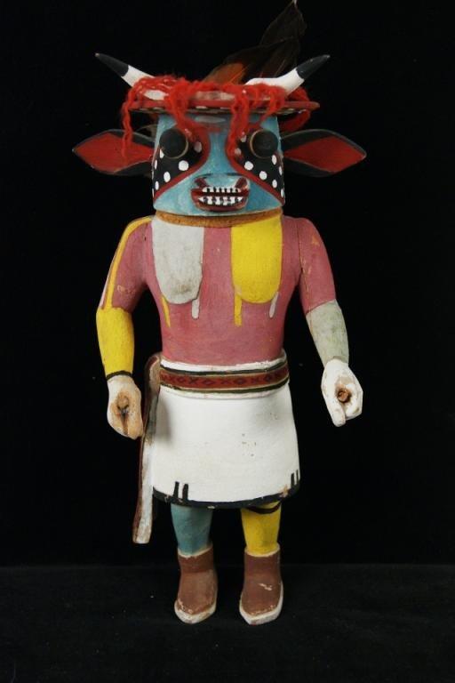 "1: Katchina 11"" doll - 3rd Mesa Hopi Provenance: Robert"