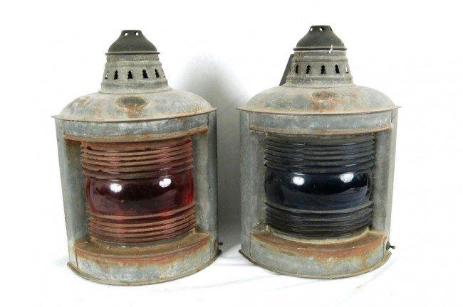 2: 2 Rail Road lamps
