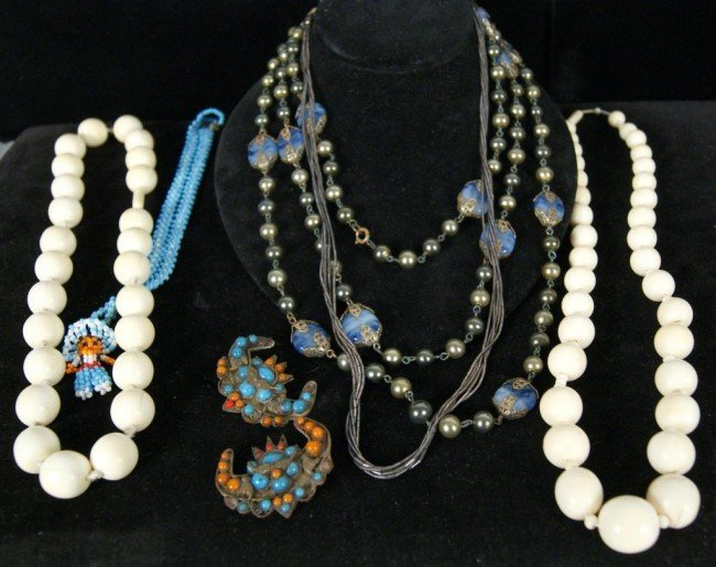 13: Costume jewelry - 2 lots