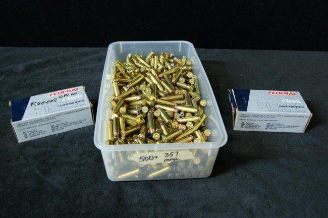 "16: 357""s (App 600) ammunition"
