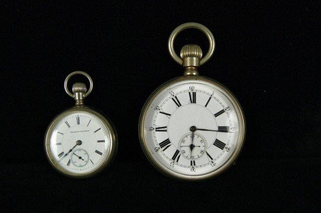 1: 2 Rail Road Watches - Illinois Watch Co