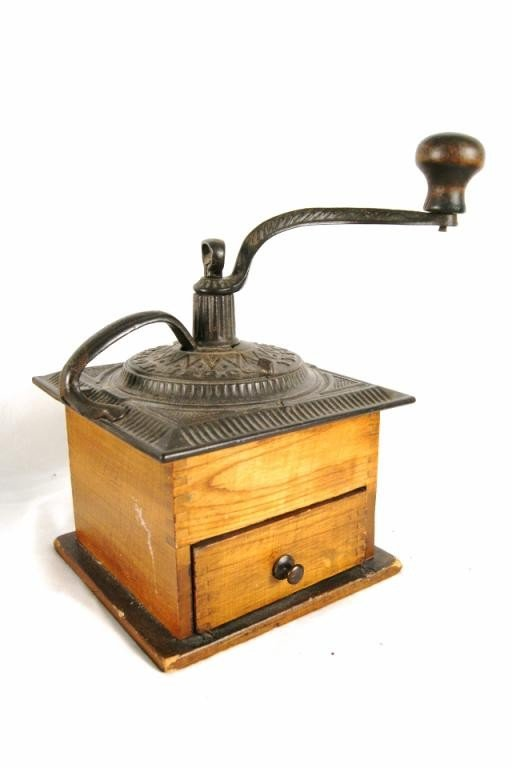 9: Antique American coffee grinder ca 1910 Imperial