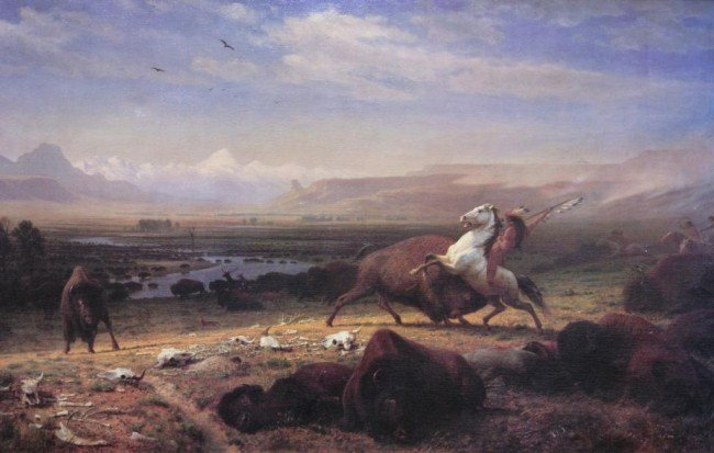 91: Alfred Jacob Miller (1810-1874) giclee on canvas 30 - 2