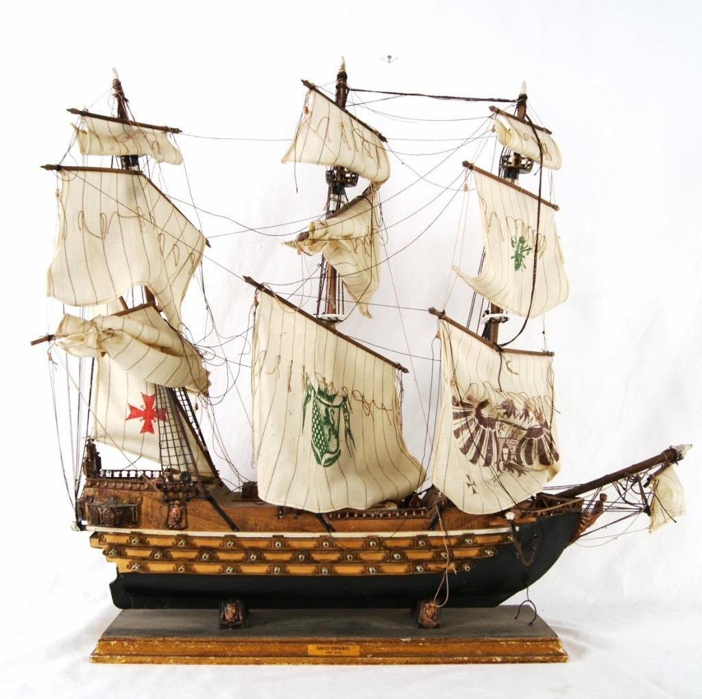 "11: Fragata sail boat  ""Navio Espanol"" model"
