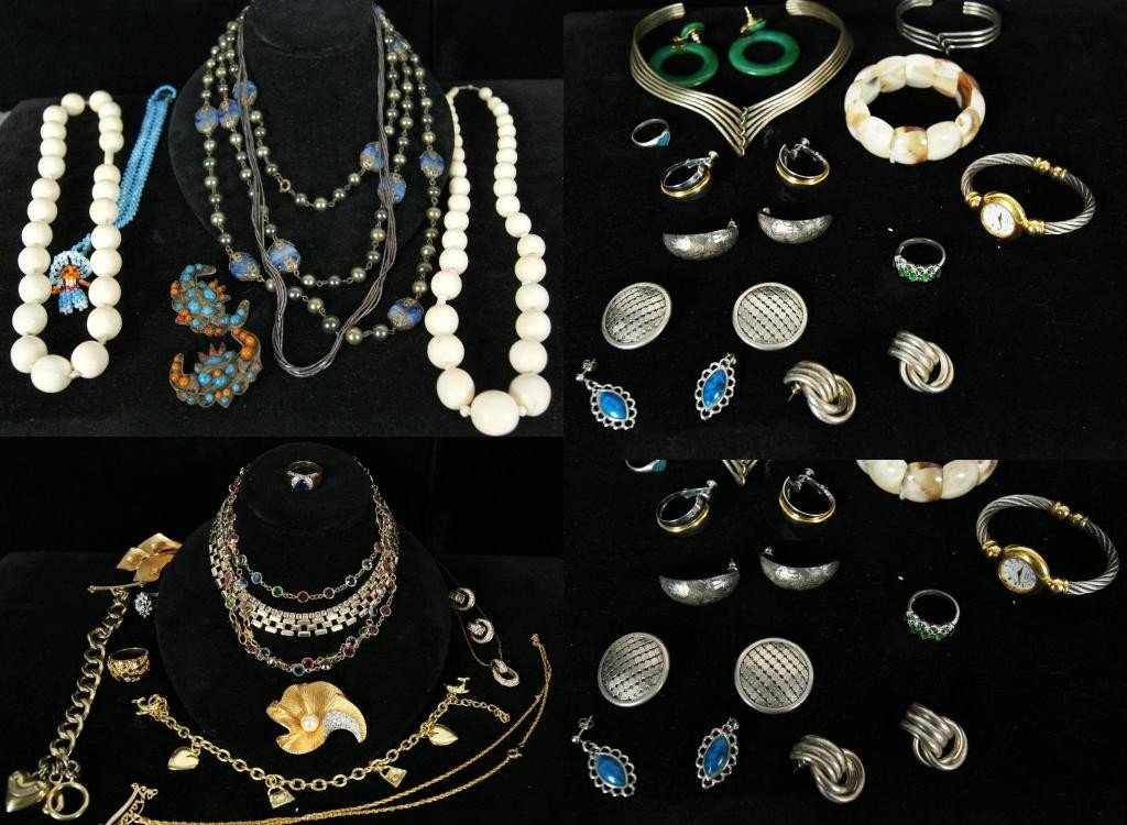 13: Very Nice collection of Costume jewelry - 3 boxes