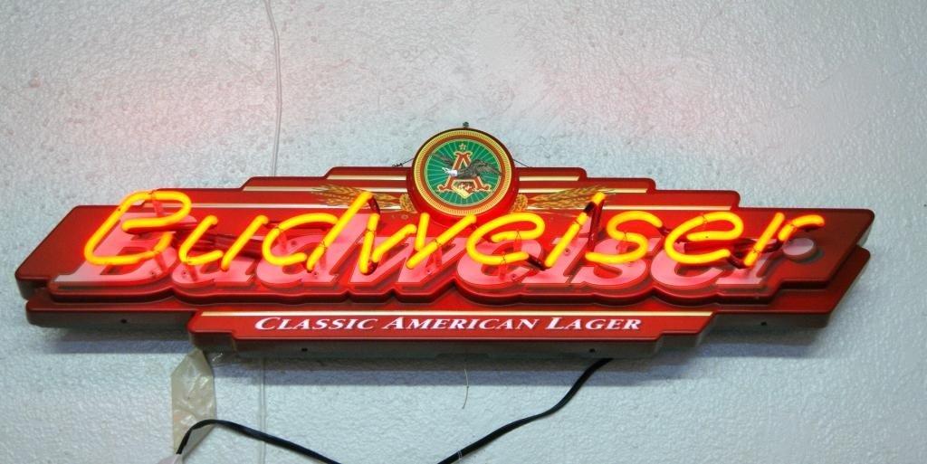 1: Budweiser Neon Sign