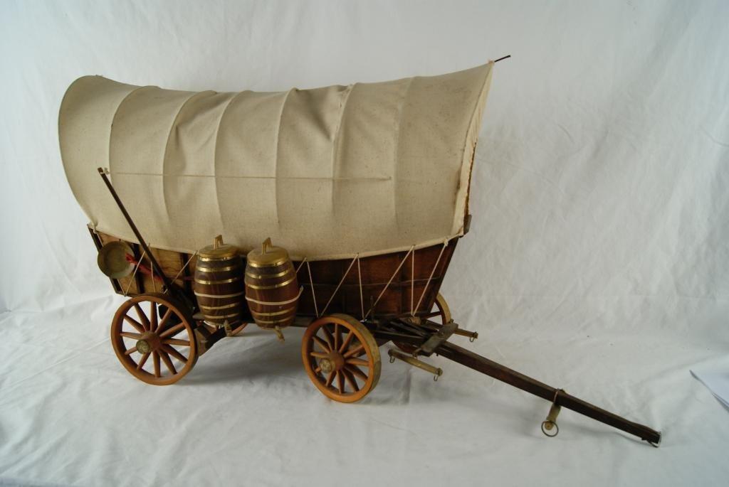 2: Calistoga model covered wagon