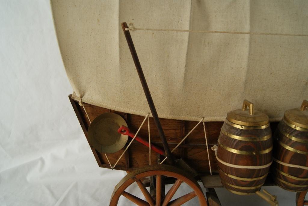 2: Calistoga model covered wagon - 2