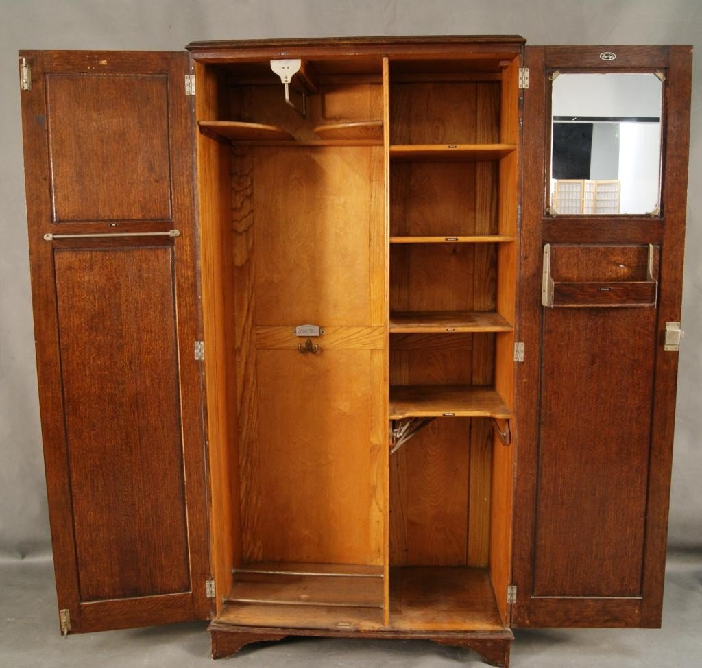 40A: English armoire - Hotel wardrobe Camphor 'Aw-lyn' - 7