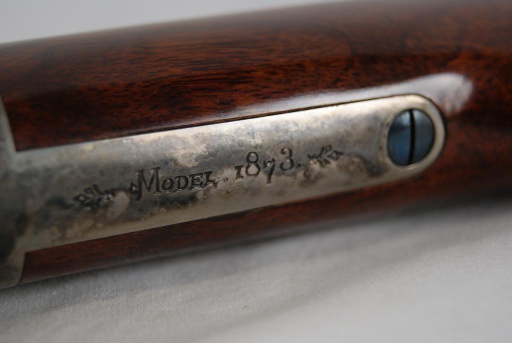 169: Cimarron Arms 1873 Long Range Deluxe 45 - 10