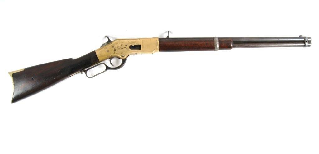 177: 1866 Winchester Yellowboy w/ saddle ring Carbine