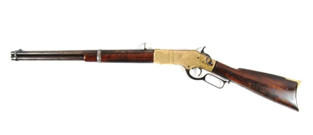 177: 1866 Winchester Yellowboy w/ saddle ring Carbine - 4
