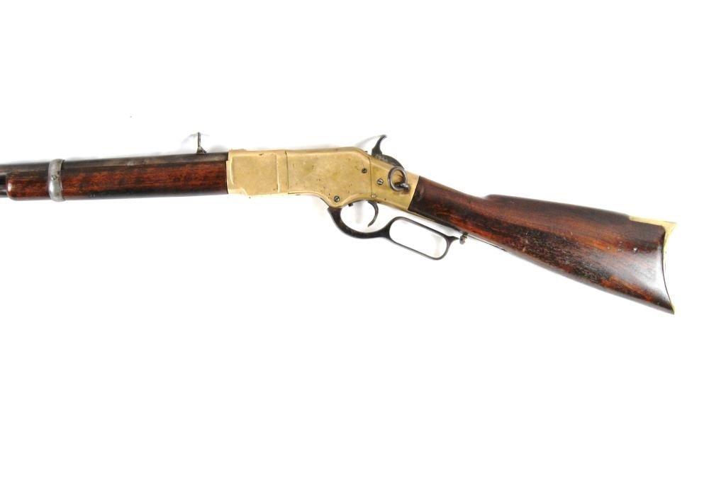 177: 1866 Winchester Yellowboy w/ saddle ring Carbine - 5