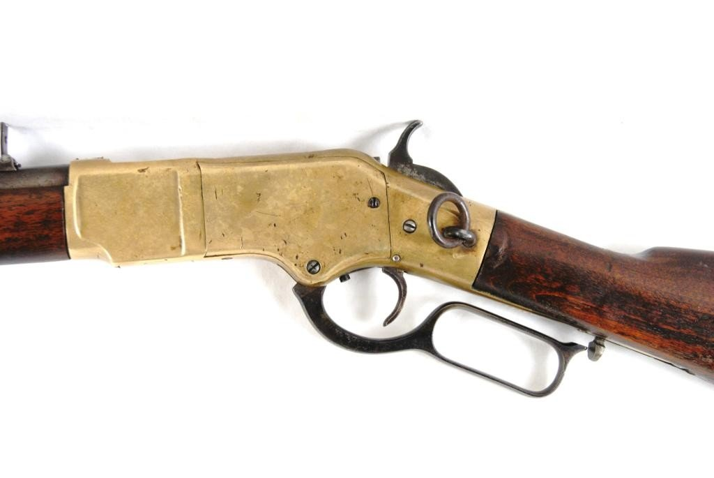 177: 1866 Winchester Yellowboy w/ saddle ring Carbine - 6
