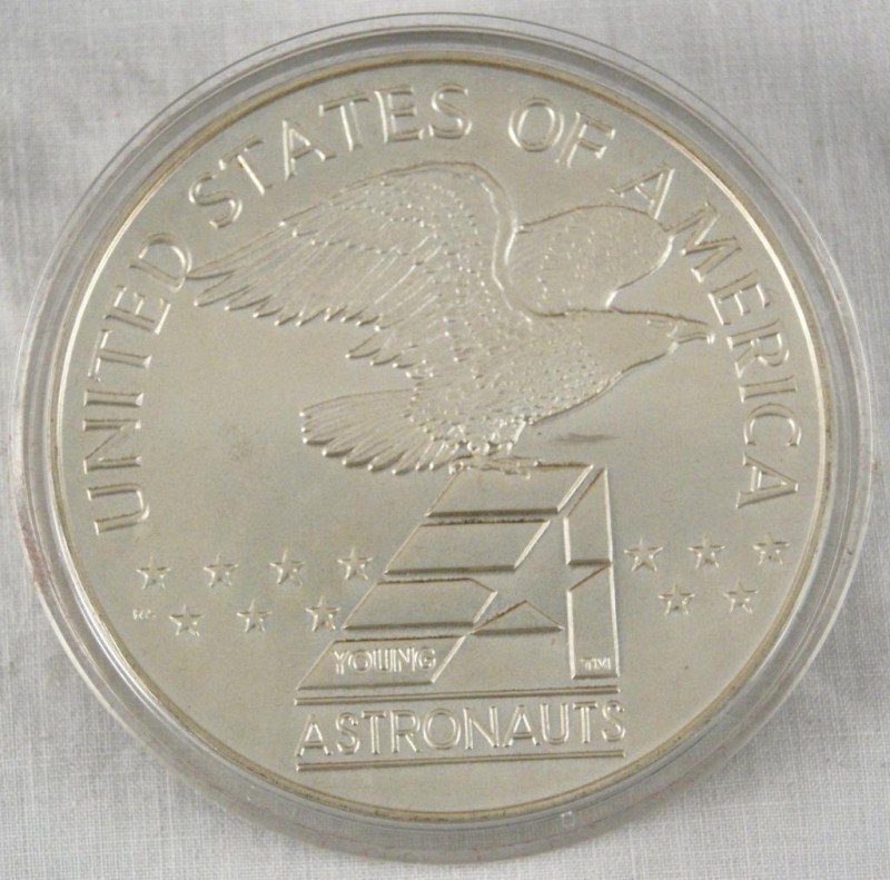 9: Liberty 13 oz Sterling Silver--- America in Space