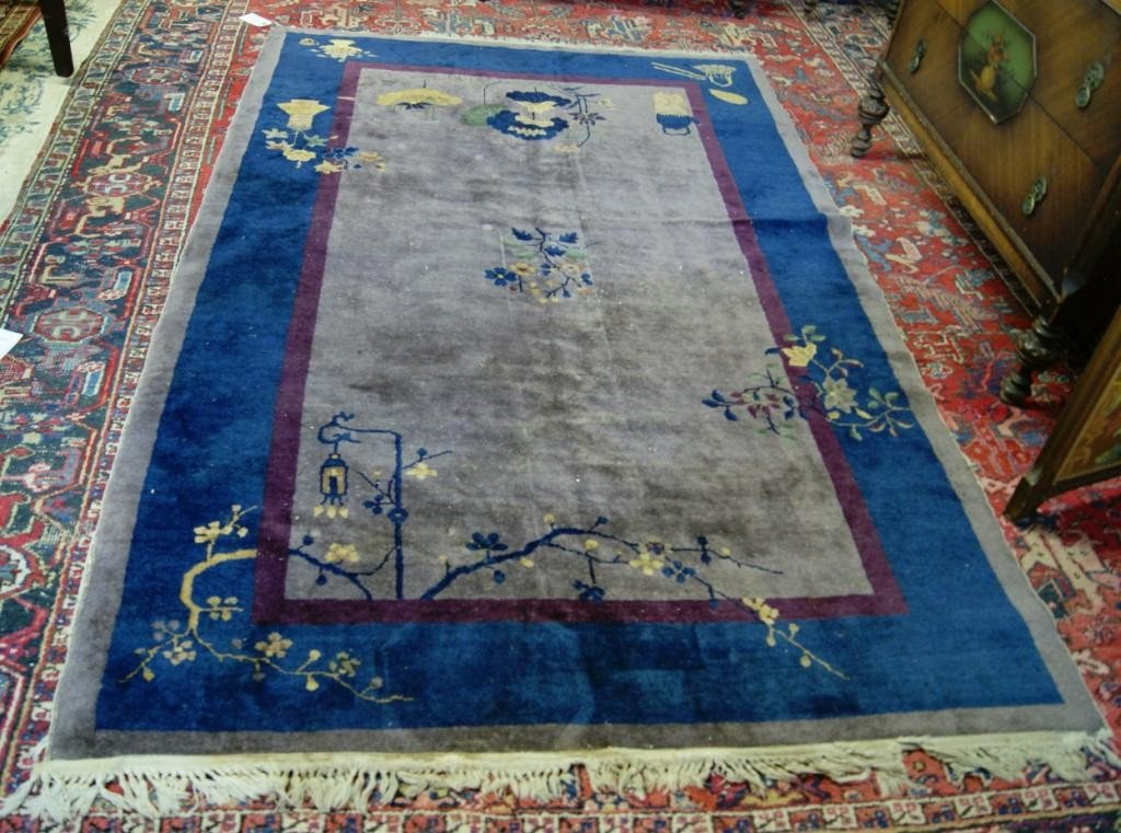 22A: Chinese Art Deco 5'x7' rug