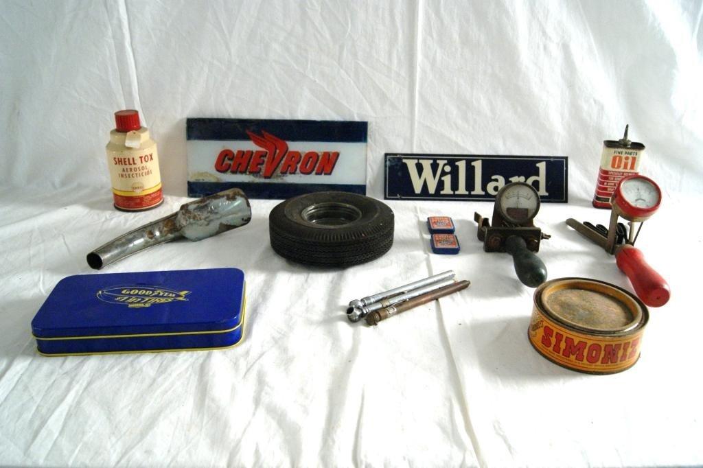 3: Vintage automobile collectables