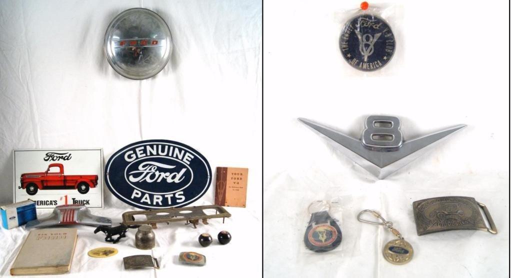 5: Collection of Ford motor car memorabilia