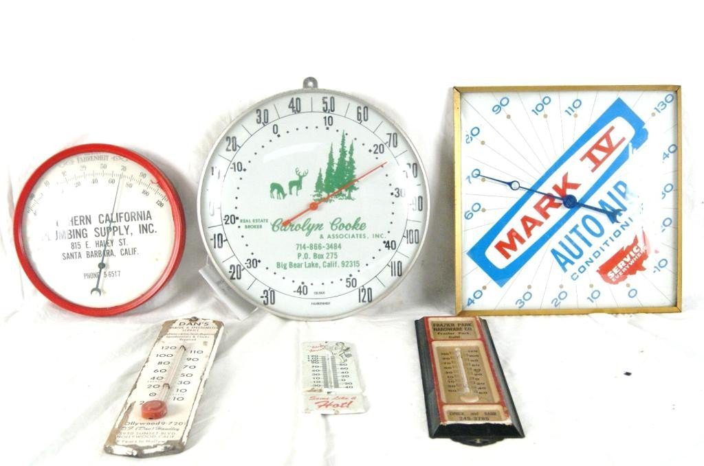 13: Advertising  thermometers - 6