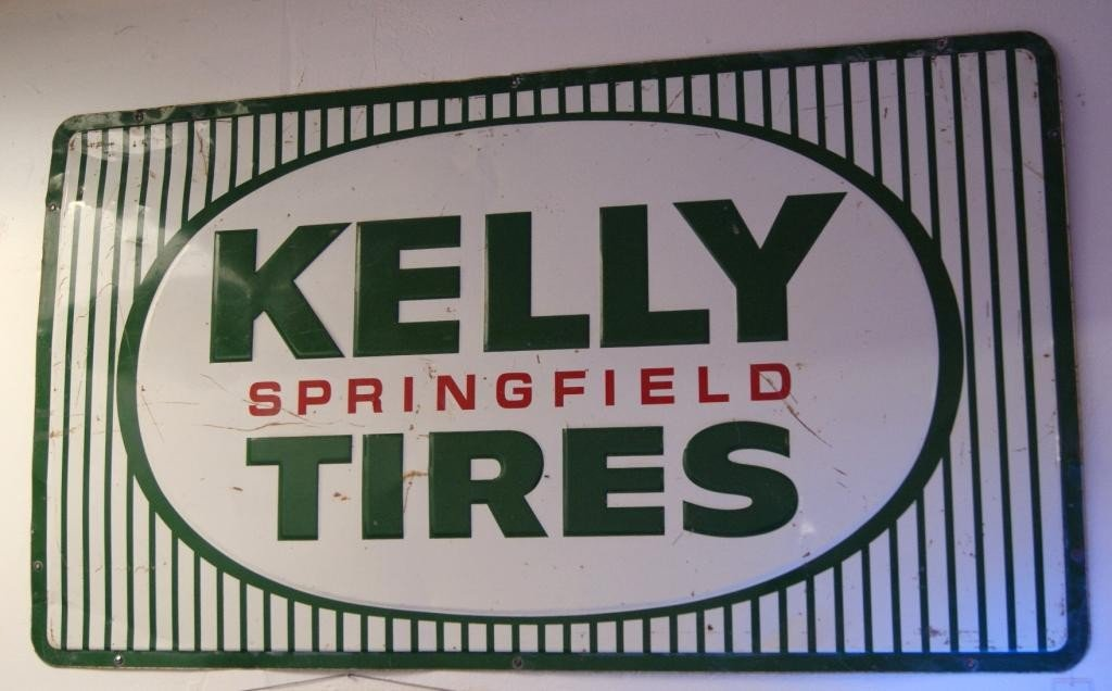 14: Kelly tire sign