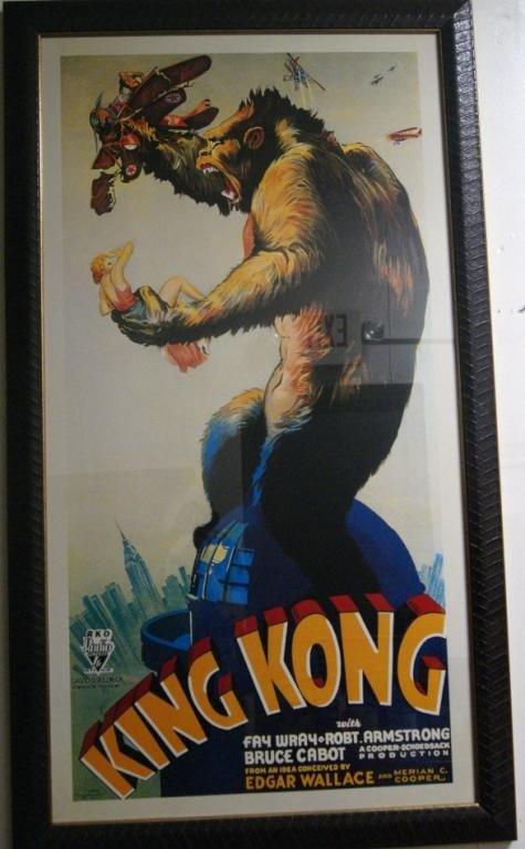 21: King Kong RKO Poster 51x25