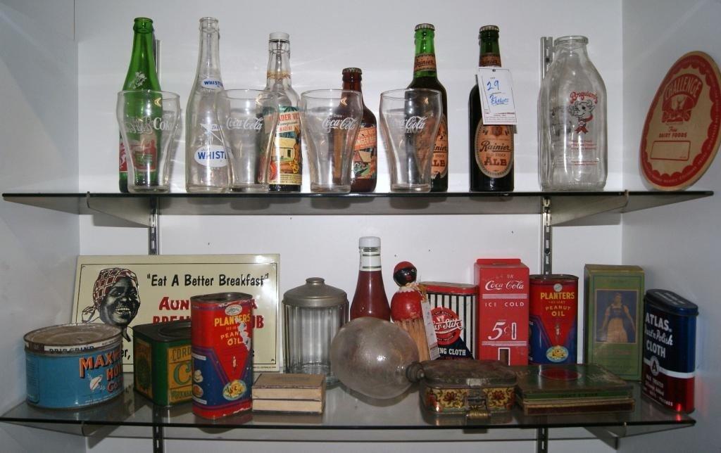 29: Misc. advertising tins - Aunt Jemima etc...