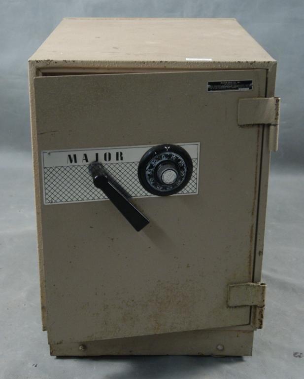 "31A: ""Major' Safe Company Safe with combination - 2"