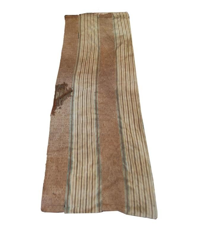 """73: Pre Columbian Chancay  textile  20""""x67"""""""