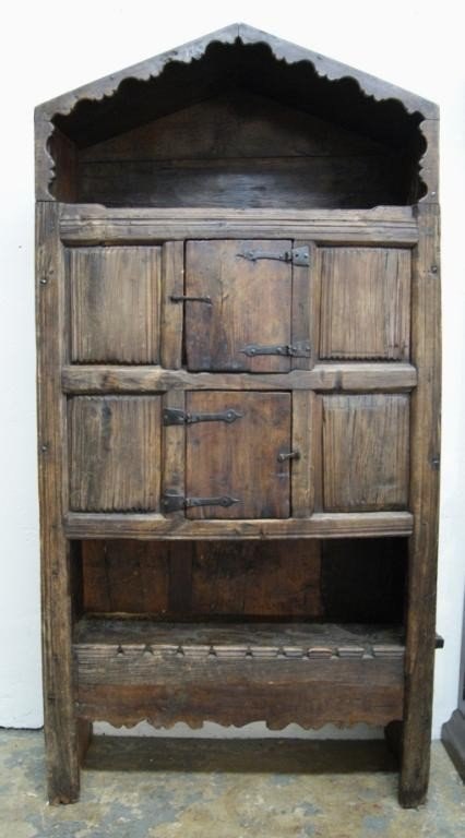 77: Early 19th c Spanish  colonial cabinet