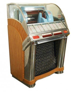 Seeburg G100 Selectomatic Deluxe 45 Rpm Jukebox