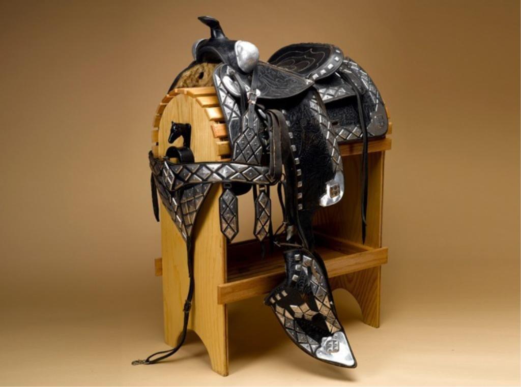 172: Edward Bohlin Silver Parade Saddle