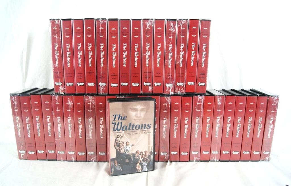 """184B: """"The Waltons""""  82 episodes on VHS"""
