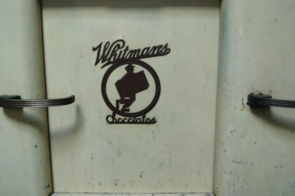 203: Whitman chocolate & candy vintage display cabinet - 3