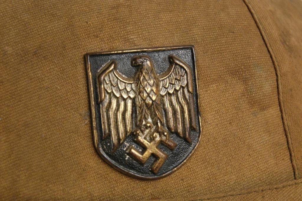 314: Rare German WWII North Africa Pith Helmet - 2