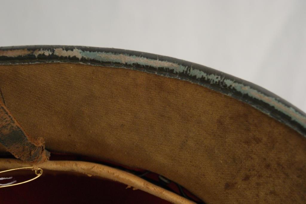 314: Rare German WWII North Africa Pith Helmet - 8